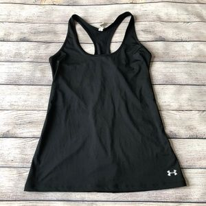 Under Armour Black Racer Back Tank Top Size XS